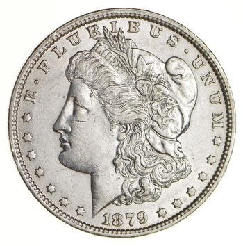 AU/Unc - 1879-O Morgan Silver Dollar $1.00 High Grade