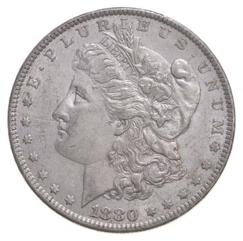 AU/Unc - 1880-O Morgan Silver Dollar $1.00 High Grade
