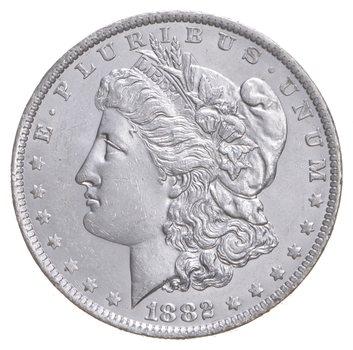 AU/Unc - 1882-O Morgan Silver Dollar $1.00 High Grade
