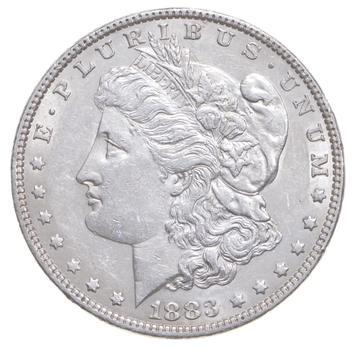AU/Unc - 1883 Morgan Silver Dollar $1.00 High Grade