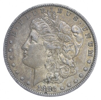 AU/Unc - 1883-O Morgan Silver Dollar $1.00 High Grade