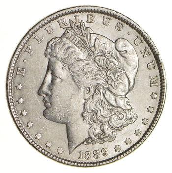 AU/Unc - 1889 Morgan Silver Dollar $1.00 High Grade