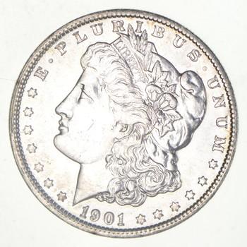 AU/Unc - 1901-O Morgan Silver Dollar $1.00 High Grade