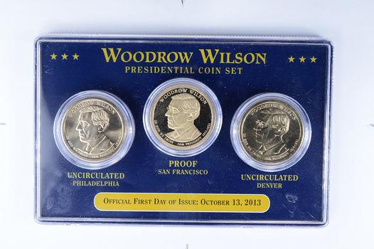 Beautiful! - 3 Coin Philadelphia/Denver/San Fran - Presidential Dollar Set- Includes PROOF