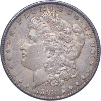 Beautiful Tone - 1898 Morgan Silver Dollar - Nice Color