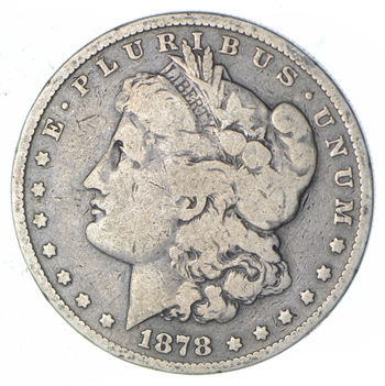 Better - 1878-S Morgan Silver Dollar - Tough to find