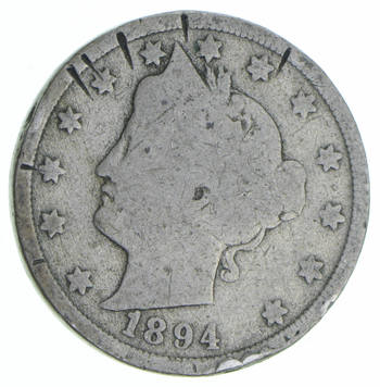 Better - 1894 Liberty 'V' Nickel - Collectible Coin