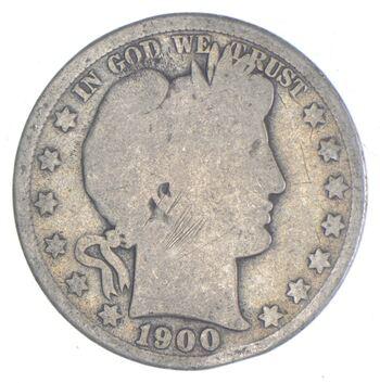 Better 1900 - US Barber 90% Silver Half Dollar Coin Collection Set Break