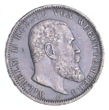 Better - 1912 Germany 3 Mark - 0.5 Oz. Silver