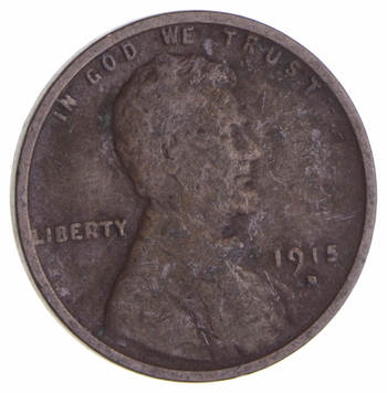 Better 1915-D Lincoln Wheat Cent