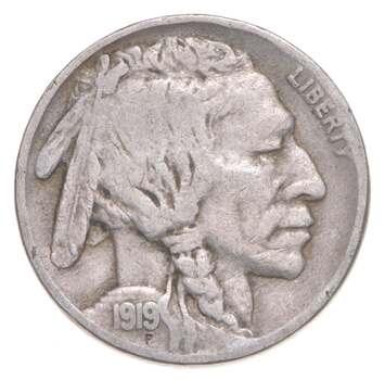 Better - 1919 Indian Head Buffalo Nickel