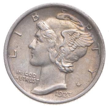 Better 1923 - US Mercury 90% Silver Dime Coin Collection Lot Set Break