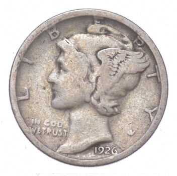 Better 1926-S - US Mercury 90% Silver Dime Coin Collection Lot Set Break