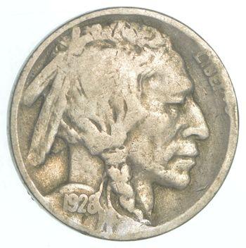 Better - 1928-D Buffalo Indian Head US Nickel