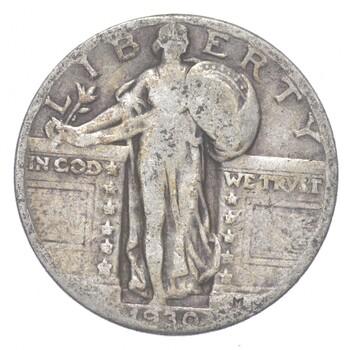 Better 1930 - US Standing Liberty 90% Silver Quarter Coin Set Break