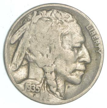 Better - 1935-S Buffalo Indian Head US Nickel