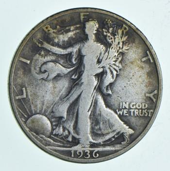 Better 1936-D - US Walking Liberty 90% Silver Half Dollar Coin Set Break