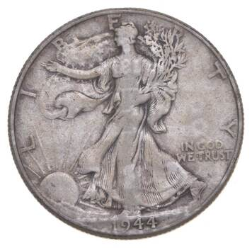 Better 1944 - US Walking Liberty 90% Silver Half Dollar Coin Set Break