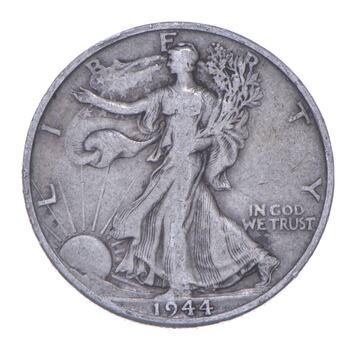 Better 1944-D - US Walking Liberty 90% Silver Half Dollar Coin Set Break