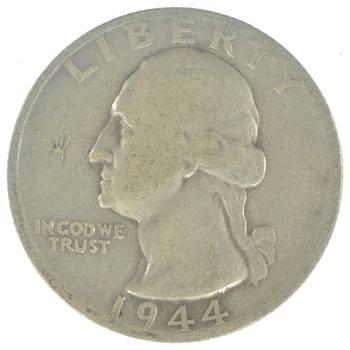 Better 1944-S Washington 90% Silver United States Quarter