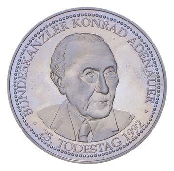 Better - 1992 Germany Konrad Adenauer Commemorative Token