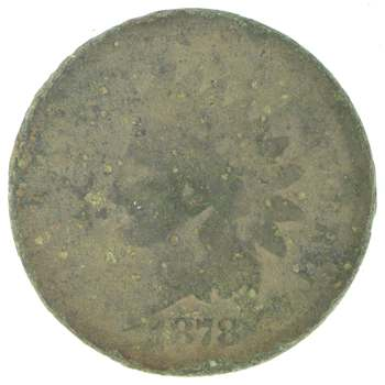 Better Date - 1878 Indian Head Cent Penny