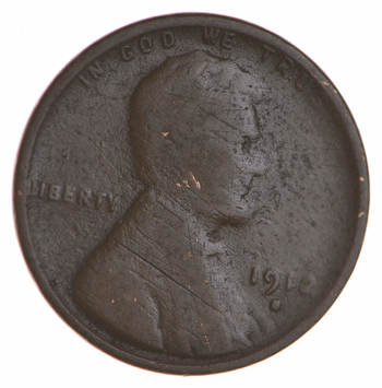 Better Date- * 1912-D * Lincoln Wheat Cent Penny - Look at Red Book!