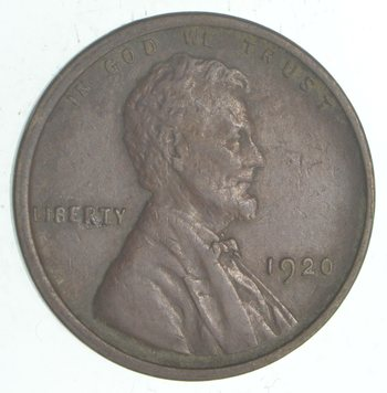 **Better Date 1920 Lincoln Wheat Cent