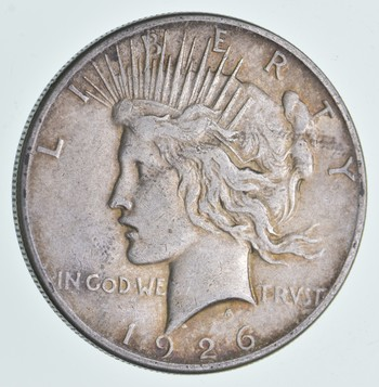 Better Date 1926-S Peace Silver Dollar