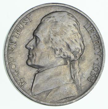 Better Date 1938-D Jefferson Nickel