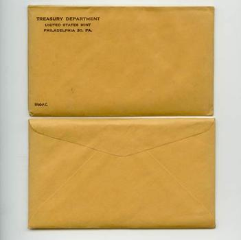 Better Date 1960 Silver Unopened (Envelope Sealed) U.S. Proof Set - May Contain Franklin Half Worth Up To $12,000