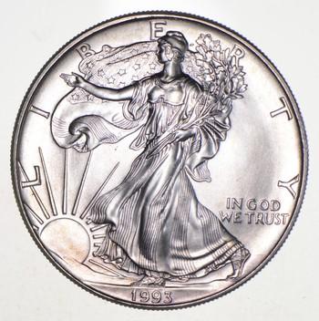 Better Date 1993 American Silver Eagle 1 Troy Oz .999 Fine Silver
