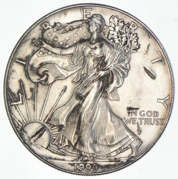 Better Date 1999 American Silver Eagle 1 Troy Oz .999 Fine Silver