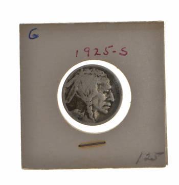 BETTER DATE - Roaring 20's - 1925-S Buffalo Nickel - Look It Up!