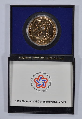 Bicentennial Official US Mint Historic Commemorative Medal