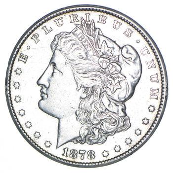 Carson City - 1878-CC Morgan Silver Dollar - RARE Historic Coin