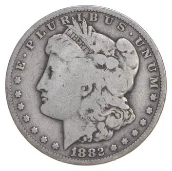 Carson City - 1882-CC Morgan Silver Dollar - RARE Historic Coin