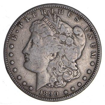 Carson City - 1890 -CC Morgan Silver Dollar - RARE Historic Coin