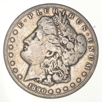 Carson City - 1890-CC Morgan Silver Dollar - RARE Historic Coin