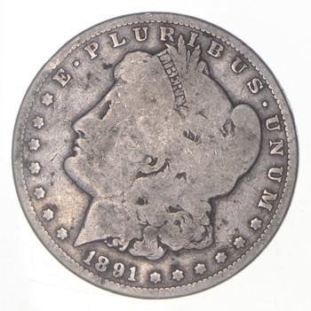 Carson City - 1891-CC Morgan Silver Dollar - RARE Historic Coin