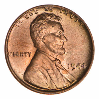 Choice Unc 1944 Lincoln Wheat Cent