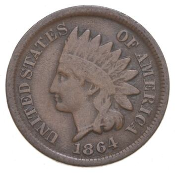 Civil War 1864 Indian Head Cent -
