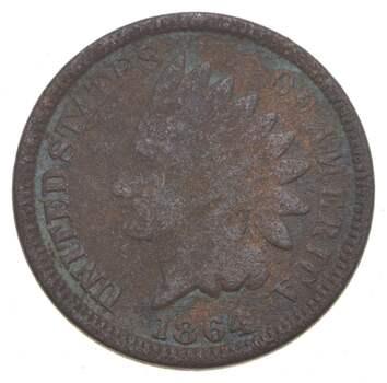 Civil War 1864 Indian Head Cent -