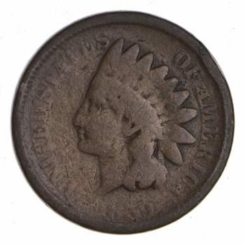 Civil War Era - 1859 Copper Nickel Indian Head Cent - Historic