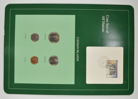 Coin Sets of All Nations - Cayman Islands - Stamp & Coin Set