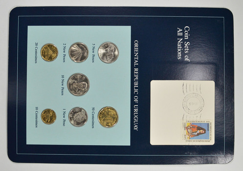 Coin Sets of All Nations - Oriental Republic of Uruguay - Stamp & Coin Set