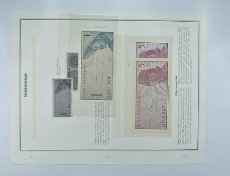 Colorful - Bank Note(s) from Indonesia - Interesting History!