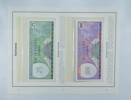 Colorful - Bank Note(s) from Suriname - Interesting History!