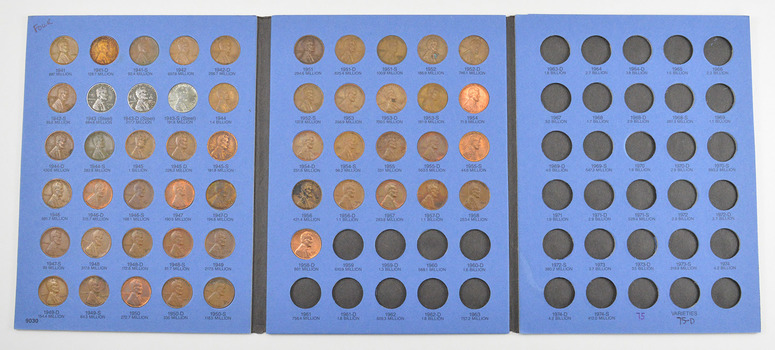 Complete 1941-58 Lincoln Wheat Cent Set - Includes 1943 Steel Cents!