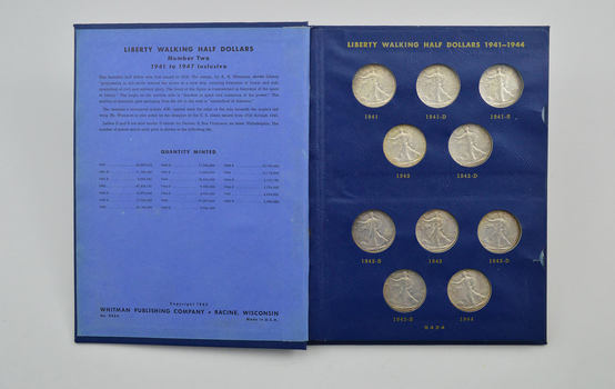 Complete Set 20 Coin Liberty Walking Half Dollars 1941-47- Nicer